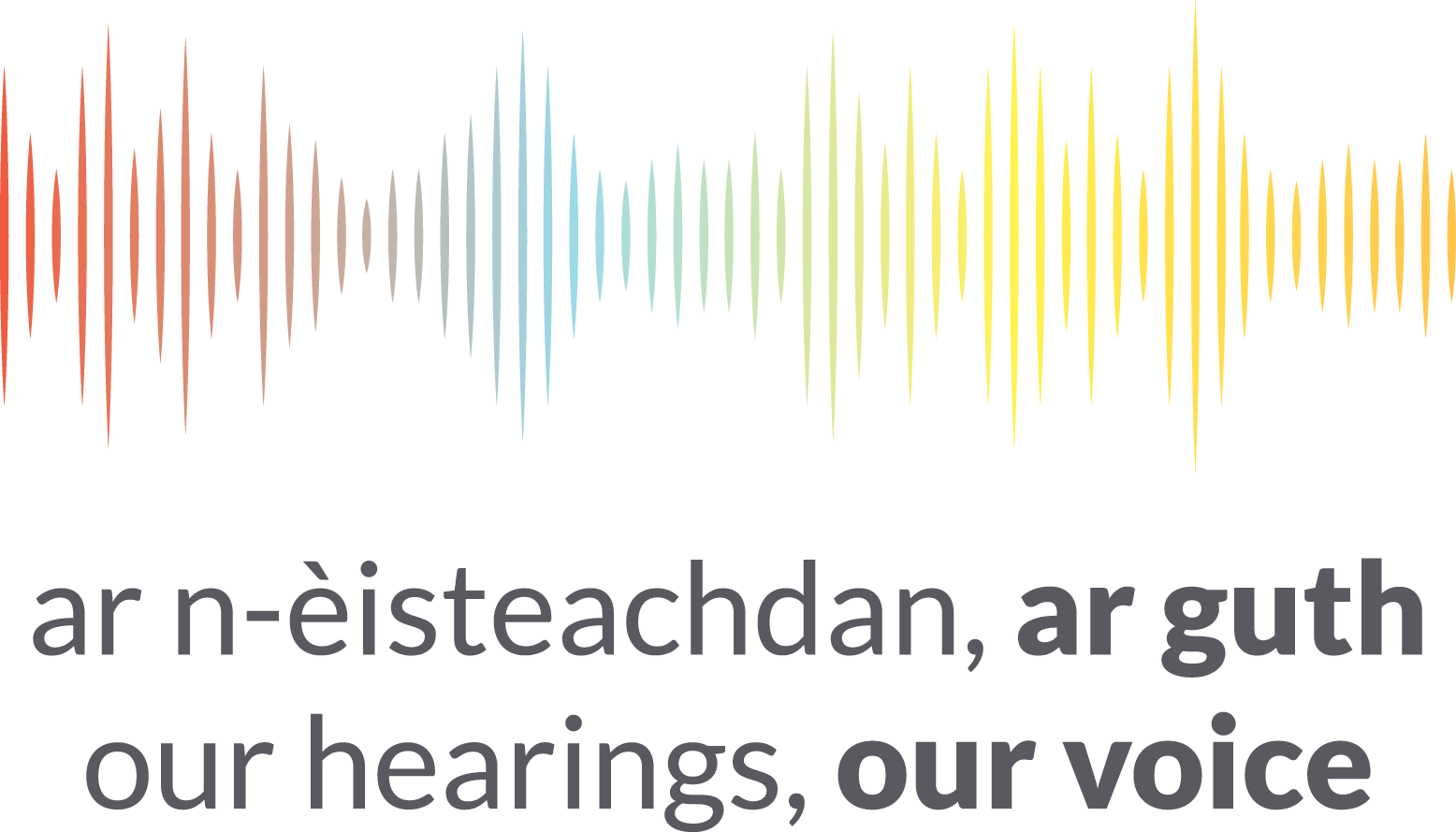 Our Hearings, Our Voice