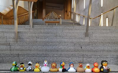 Scottish Parliament exhibition